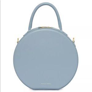 Mansur Gavriel Calf Circle Bag -Grey Blue
